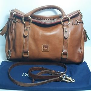 Dooney & Bourke Florentine Leather Medium Satchel